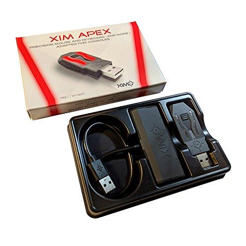 XIM APEX PS4/XboxOne/PS3/Xbox360用キーボードマウス接続アダプタ【正規代理店/1年間保証】