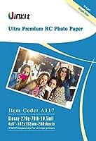 RCウルトラプレミアムフォト用紙光沢–uinkit写真用紙100%防水4x 68.5X 1111x 17forインクジェット印刷 4x6 inches-200sheets