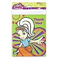 Polly Pocket Thank You Notes w/ Envelopes (8ct) [並行輸入品]