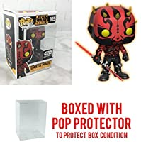 Star Wars Rebels Darth Maul POP! Smugglers Bounty Exclusive 165 (Pop with Protector)