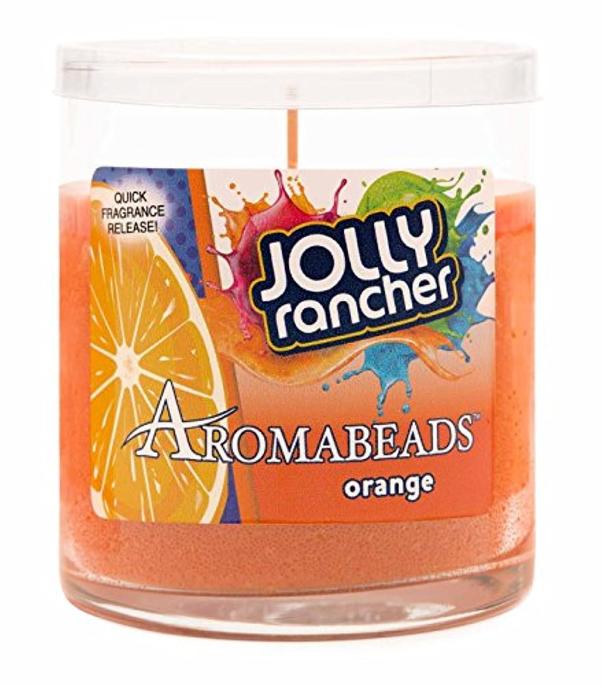 覚えている甘美な陰気Hanna 's Aromabeads 6oz Hershey 's Candy Scented Candle オレンジ