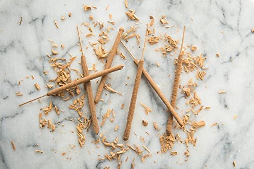占めるプロフィールどうしたのWhite Sandalwood Incense Sticks - 6 All Natural Hand Rolled Herbal Incense Sticks [並行輸入品]