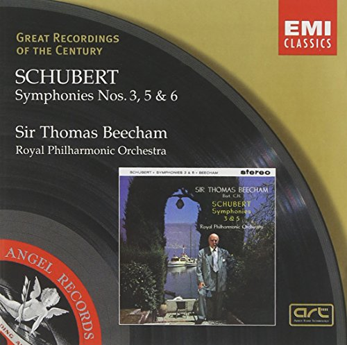 Great Recordings Of The Century - Schubert: Symphonies nos. 3, 5, & 6 / Beecham, Royal Philharmonic Orchestra