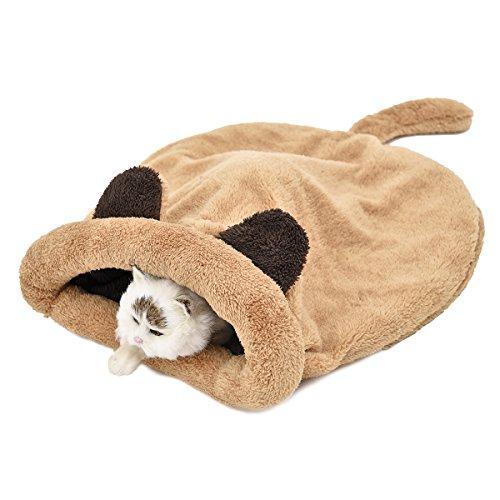 Speedy Pet 猫用 寝袋 猫ハウス 暖かい ペットハ...