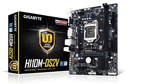 GIGABYTE Intel H110チップ搭載マザーボードGA-H110M-DS2V