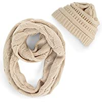 Warm comfortable Infinity scarf and beanie