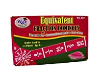 Learning Advantage 4519 Equivalent Fraction Dominoes Game Grade: 4 to 9 6.5 Height 1.5 Width 4 Length [並行輸入品]