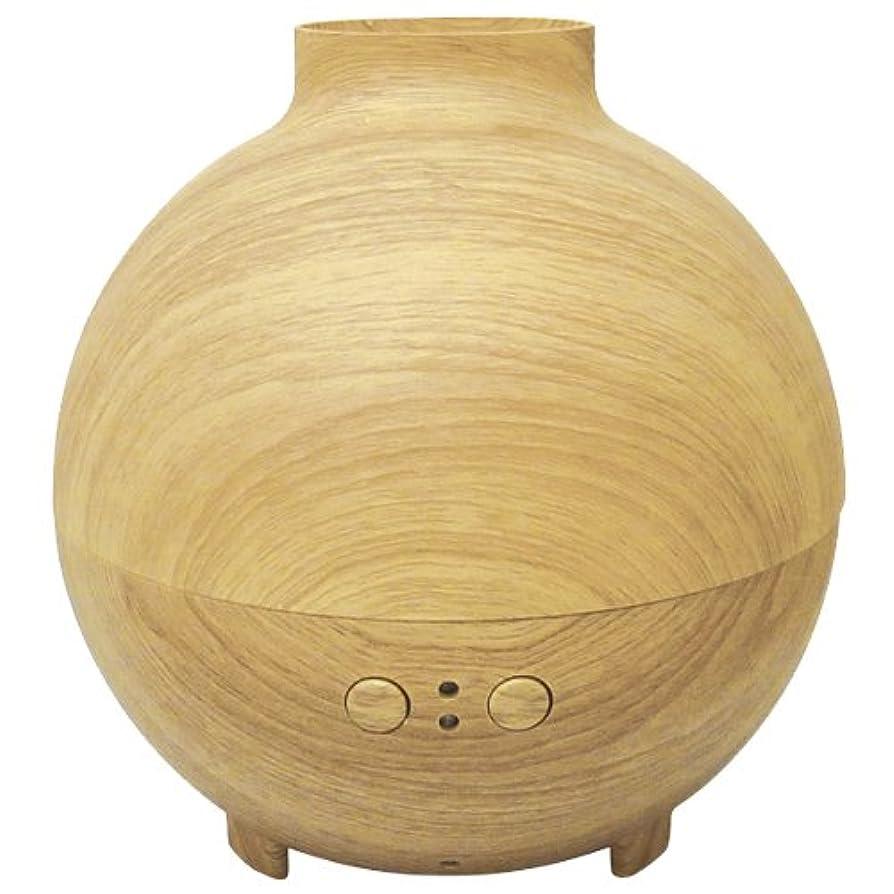 ガチョウシャッター保存するブレイン  木目調加湿器アロマデュフューザー 「Kardia(カルディア)」