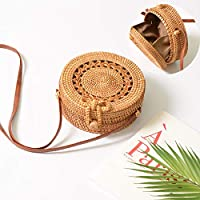 Square Round Mulit Style Straw Bag Handbags Women Summer Rattan Bag Handmade Woven Beach Circle Bohemia Handbag