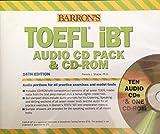 Barron's TOEFL iBT audio CD pack & CD-ROM
