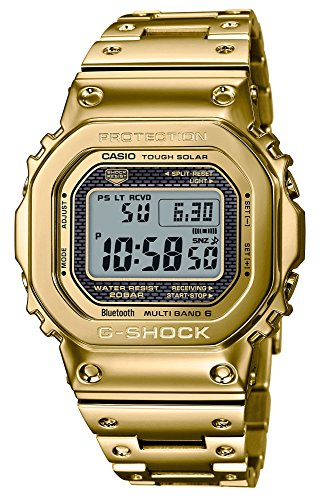 [カシオ]CASIO 腕時計 G-SHOCK ジーショック 35th Anniversary Limited Edition Bluetooth搭載 電波ソーラー GMW-B5000TFG-9JR メンズ