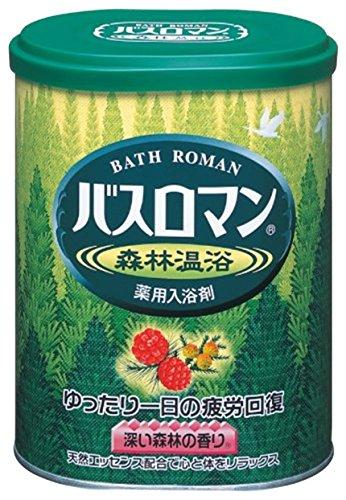 アース製薬 バスロマン 森林温浴 680g