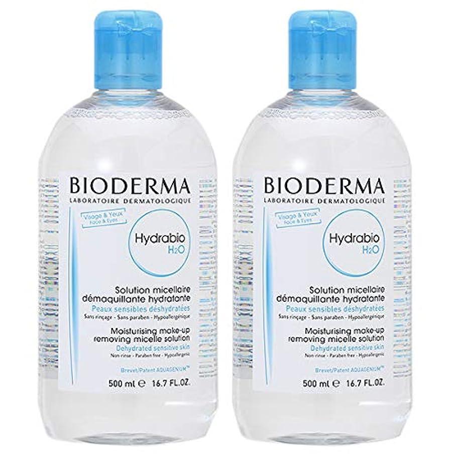 特異性構成員上昇【セット】ビオデルマ BIODERMA イドラビオ H2O 500mL 2個セット [並行輸入品]
