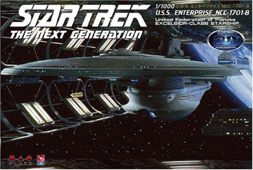 スタートレック 1/1000 NCC-1701-B エンタープライズ