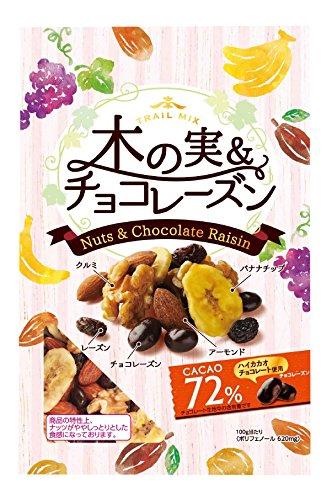 共立 共立食品 木の実&チョコレーズン(トレイルミックス)徳用 140g 1袋