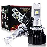 [AutoSite/LEDA] LEDヘッドライト H10 HB3 HB4 6500k 車検対応 6600lm レダLA02プラス LEDハイビーム LEDフォグランプ 汎用 CREE 12v