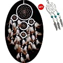 Dream Catcher ~光ハンドメイドホワイト5.9  直径 17.7  Long ( with a Gift 5.1 Diameter 26 Long YYAO-4