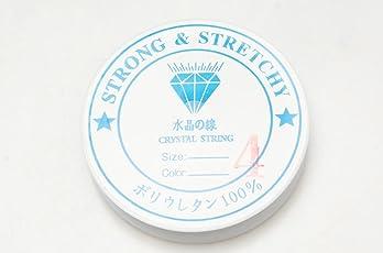 シリコンゴム ブレスレット用 ゴム紐 0.4mm/0.6mm/0.8mm/1mmサイズ 通しワイヤー & 解説書付き♪