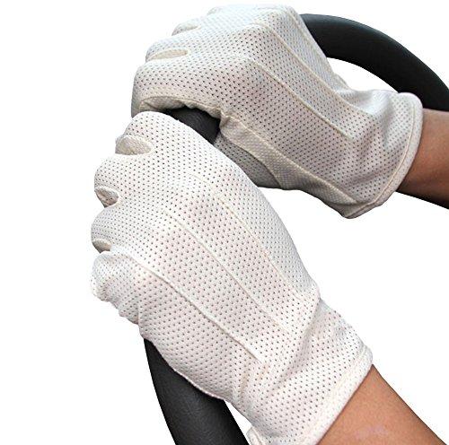 紫外線対策 手元の日焼け対策に 夏でも蒸れない メッシュ手袋 タッチパネル対応 ...