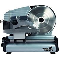 Open Country FS-250SK 180W Food Slicer, 8, Silver by OPEN COUNTRY