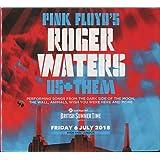 ROGER WATERS Live at Hyde Park 6 July 2018 London UK Bonus Us+Them Tour 2CD in Digipack [CD Audio]