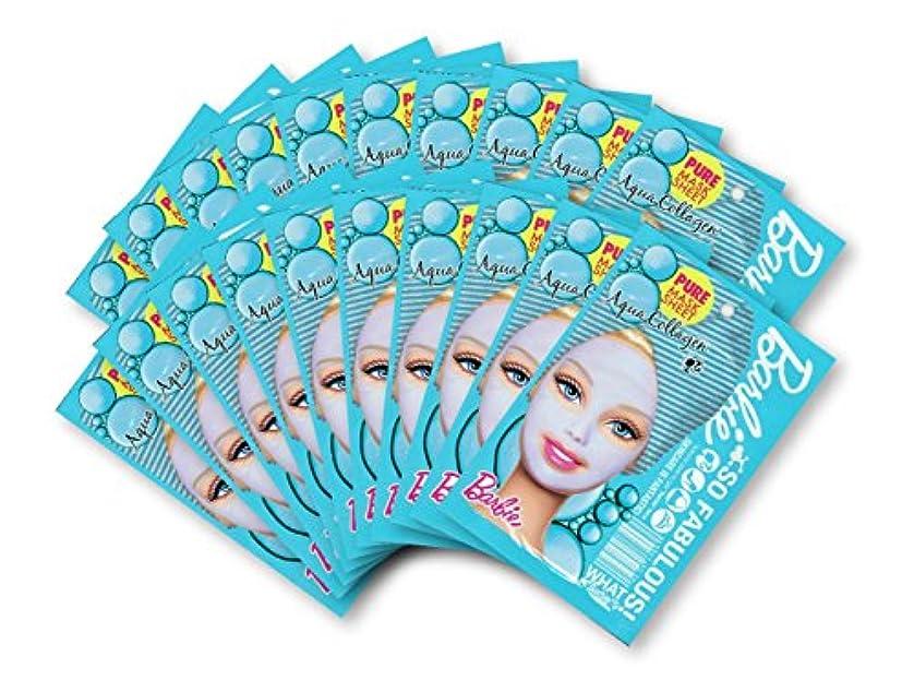 注釈宙返り一貫性のないバービー (Barbie) フェイスマスク ピュアマスクシートN (コラーゲン) 25ml×20枚入り [弾力] 顔 シートマスク フェイスパック