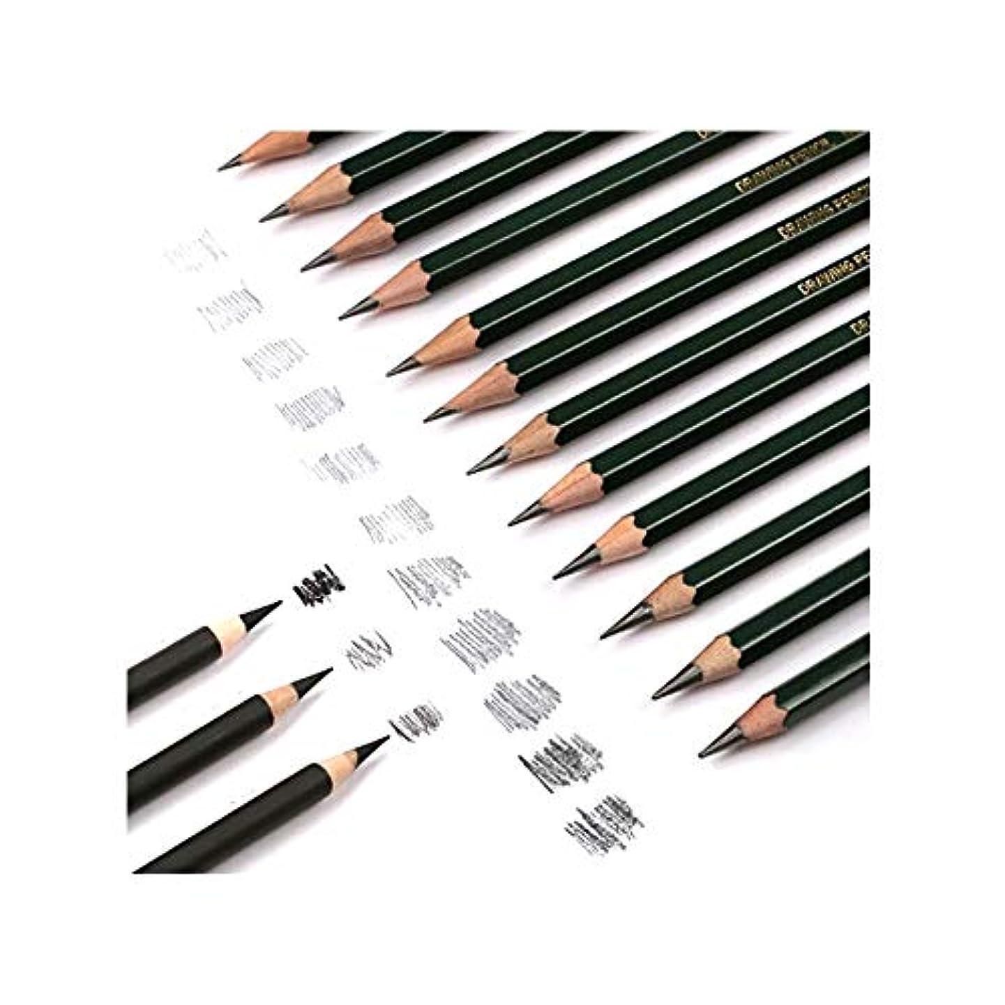 喜ぶのぞき見直径Aishanghuayi001 ペイントブラシ、色が簡単な初心者向け画材、27枚の大人のプロのスケッチデッサン鉛筆(27枚) 安全と環境保護 (Color : Silver, Size : 7 pieceses)