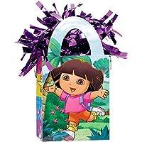 Amscan Girls Dora The Explorer Miniトートバッグパーティーバルーン重量、5.7オンス、マルチカラー