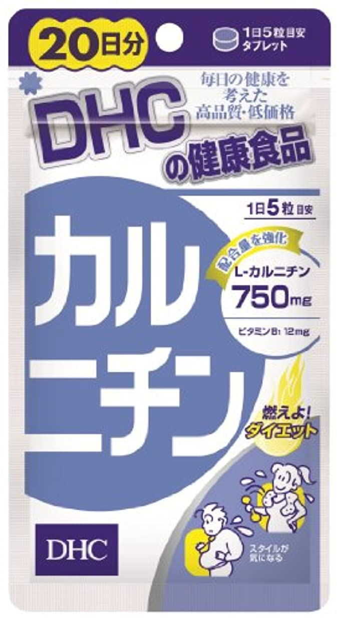 シーケンス金銭的ファンシーDHC カルニチン 20日分