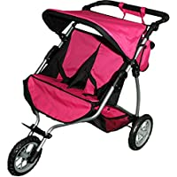 Mommy & me Twin Doll Jogger 9367B with Free Sports Bag [並行輸入品]