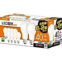 ELSONIC(エルソニック) LED電球 E26口径 電球色 40W EFT26TH40LX10