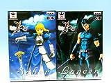 フェイト/ゼロ DXFサーヴァントフィギュア vol.1 Fate バンプレスト(全2種フルセット+ポスターおまけ)