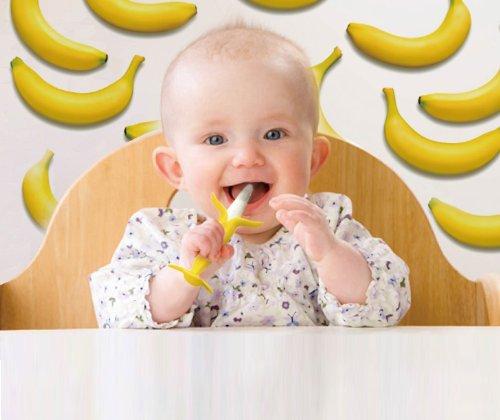 KJC ケイジェイシー EDISONselect カミカミBabyバナナ 【対象年齢:3ヶ月~】