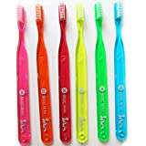 サムフレンド 【歯ブラシ】【サムフレンド 20】【6本】サムフレンド歯ブラシ20 BASIC MEDIUM Mini 6色セット【歯科