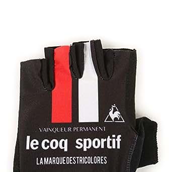 (ルコックスポルティフ)le coq sportif サイクリング プリントグローブ QCA712371 [メンズ] BLK S