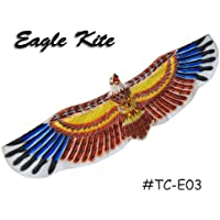 tc-e03 Large 3d Brown Eagle – Chinese手作りシルクKites