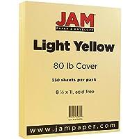 JAM Paperカードストックベーシス 8 1/2╳11インチ 250 Sheets per Pack