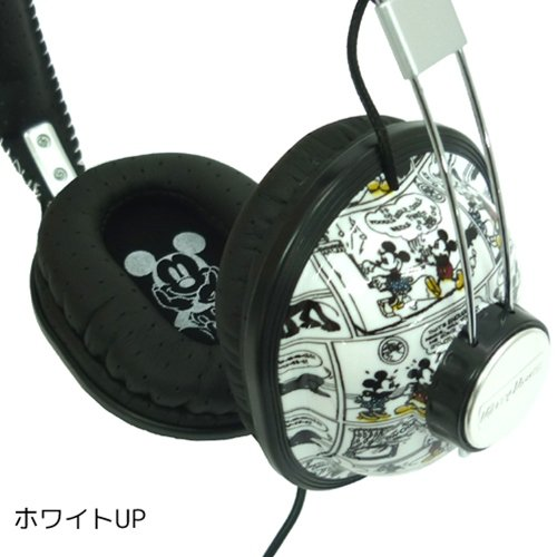 Mickey Mouse stereo headphone GDN-09WH