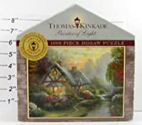 A Quiet Evening 1000 Piece Jigsaw Puzzle - Limited Edition by Thomas Kinkade [並行輸入品]
