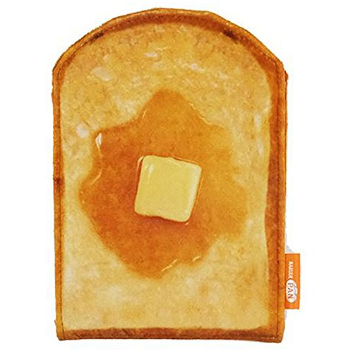 まるでパンみたいな[手鏡]折りたたみスタンドミラー/ハニートースト ベーコンエッグ いちごホイップ 【ハニートースト 】