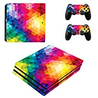 Zhhlinyuan 安定した品質 Vinyl Skin Sticker Protective ステッカー Case for PlayStatio PS4 Pro Console+Controllers ZY0277
