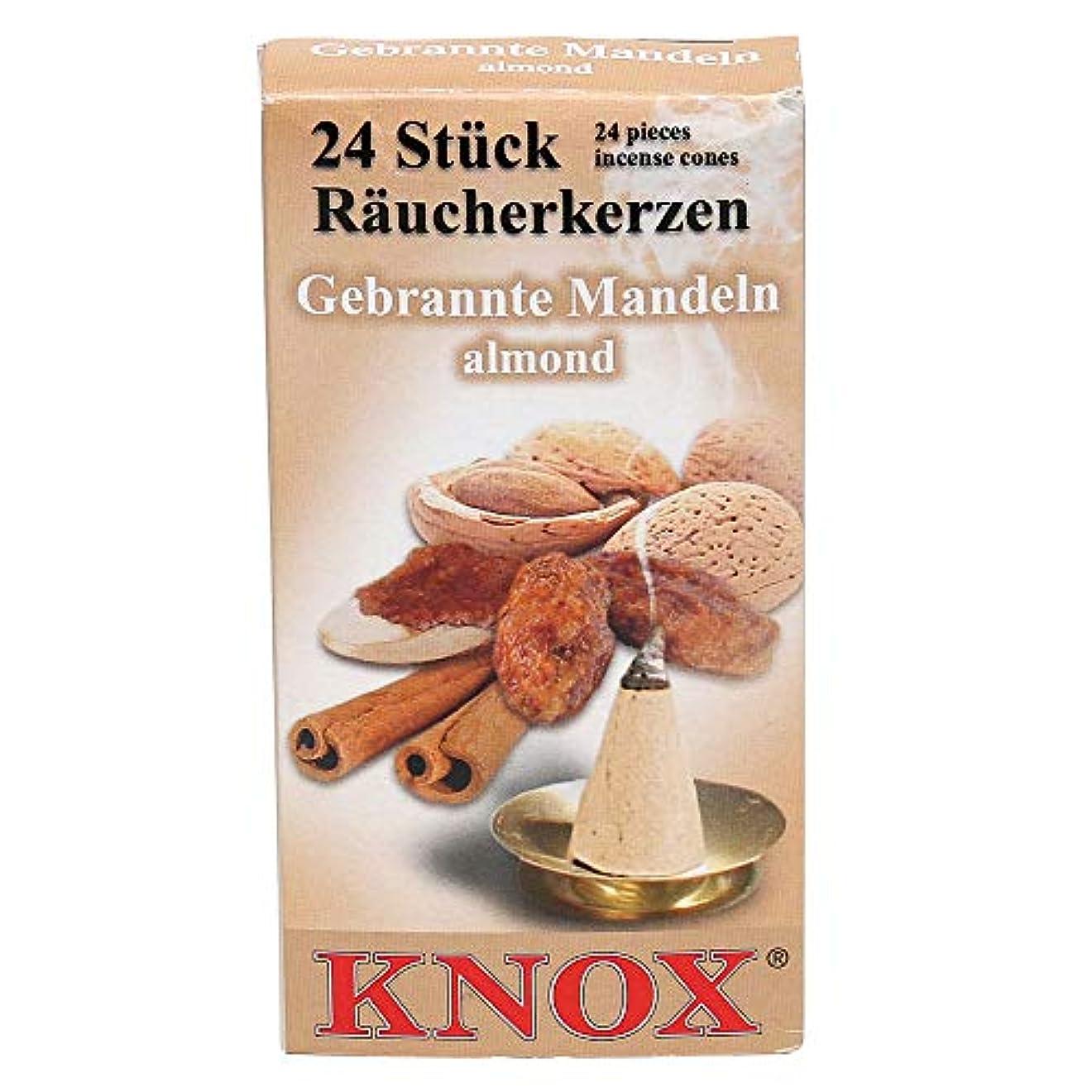 乳剤拘束する今日Incense Knox – アーモンド(24個)