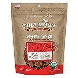 Full Moon Organic Dog Treats, Human Grade Beef Jerky, 14 Ounce