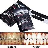活性竹炭歯を白くする、歯を白くするストリップ、ストリップをホワイトニングするプロの歯 - ホワイトパックであなたの歯を白くする28-パック - 歯からコーヒー、紅茶、およびタバコの汚れを取り除きます。 結果を得るー14パック28枚 ドライ ホワイトニング