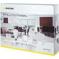 mouse スマートホーム(IoT製品) スターターキット5点セット (ルームハブ/モーションセンサー/スマートプラグ/スマートLEDライト/ドアセンサー) SK01