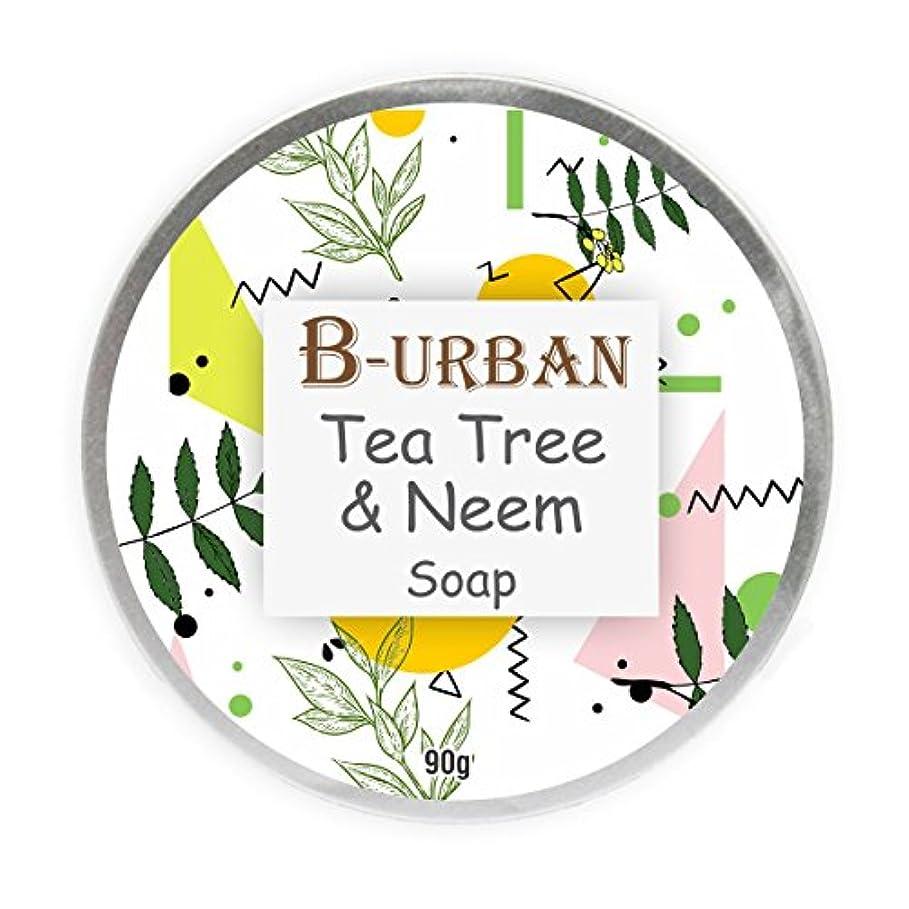 緯度変える推定B-Urban Tea Tree And Neem Soap Made With Natural And Organic Ingredients. Paraben And Sulphate Free. Anti Bacterial...