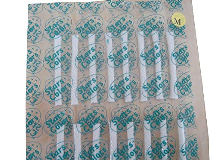 息子ステレオタイプ花束☆まつげパーマ用☆粘着式ロット1シート32本 (Mサイズ)