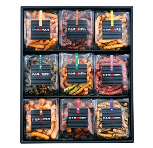 かりんとう 日本橋錦豊琳 レギュラー商品9種類(きんぴらごぼう、黒糖、洗双糖、胡麻、野菜、むらさきいも、ゆずこしょう、コーヒー、紅茶)