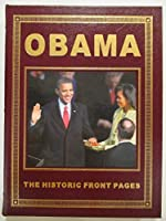 Obama: The Historic Front Pages (Leather Bound) [並行輸入品]