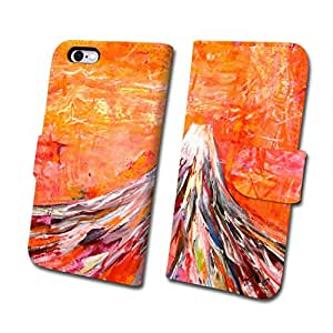 ACP スマートフォンケース アーティストシリーズ No.1 オオサワアキラ 『 Mt.FUJI SHOUT TO ME ! 』 【 手帳 タイプ 】 (iPhone6Plus/6sPlus)